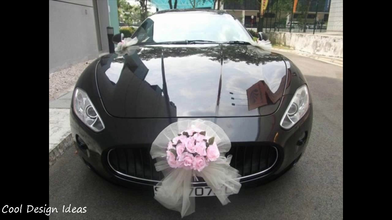 Simple Wedding Car Decoration Diy Youtube