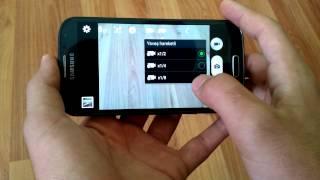 Samsung telefonlarda ağır çekim video çekme (4k)