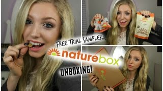 FREE TRIAL NATURE BOX// UNBOXING