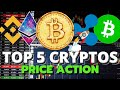 MAJOR PRICE ACTION  Bitcoin, Ethereum, XRP, Binance ...