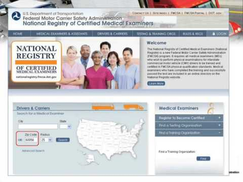 The New National Registry of Certified Medical Examiners: What Does It Mean For You & Your Drivers