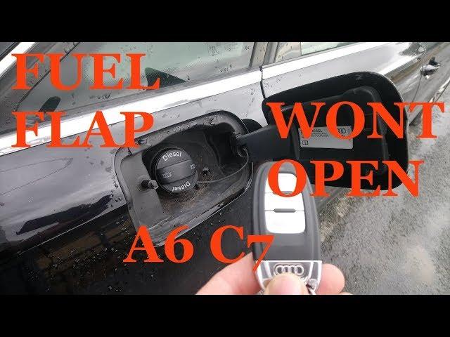 A6 Saloon Petrol Locking Fuel Cap JUN 1994 to MAR 2011