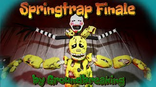 SFM springtraps story REDO music by Groundbreaking Springtrap Finale
