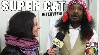 Interview with Super Cat @ Reggae Geel 2015