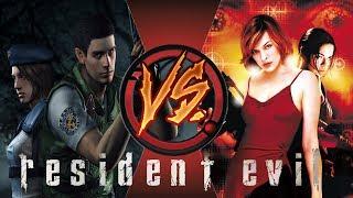 [Игра VS Фильм] Resident Evil | Обитель Зла