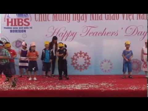HIBS HCMC Campus Teachers' Day Celebration 2013