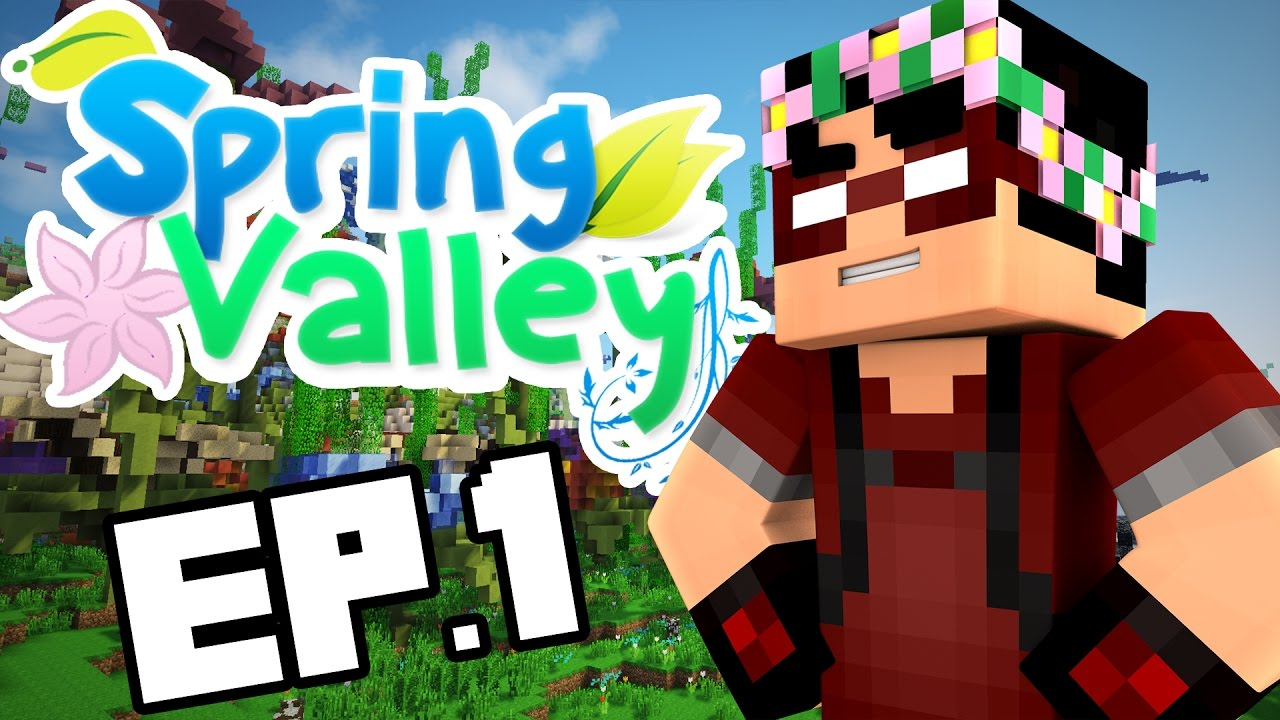 building a new home minecraft spring valley ep 1 youtube rh youtube com