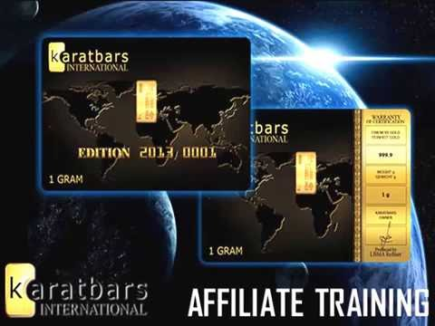 Karatbars Affiliate Quick Start Training 2015