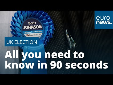 euronews (in English): UK Election 2019 Flash Digest: All you need to know in 90 seconds