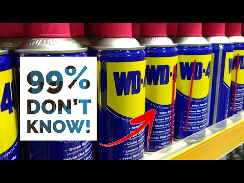 99% Of People Don't Know WD40's Dark Secret - YouTube