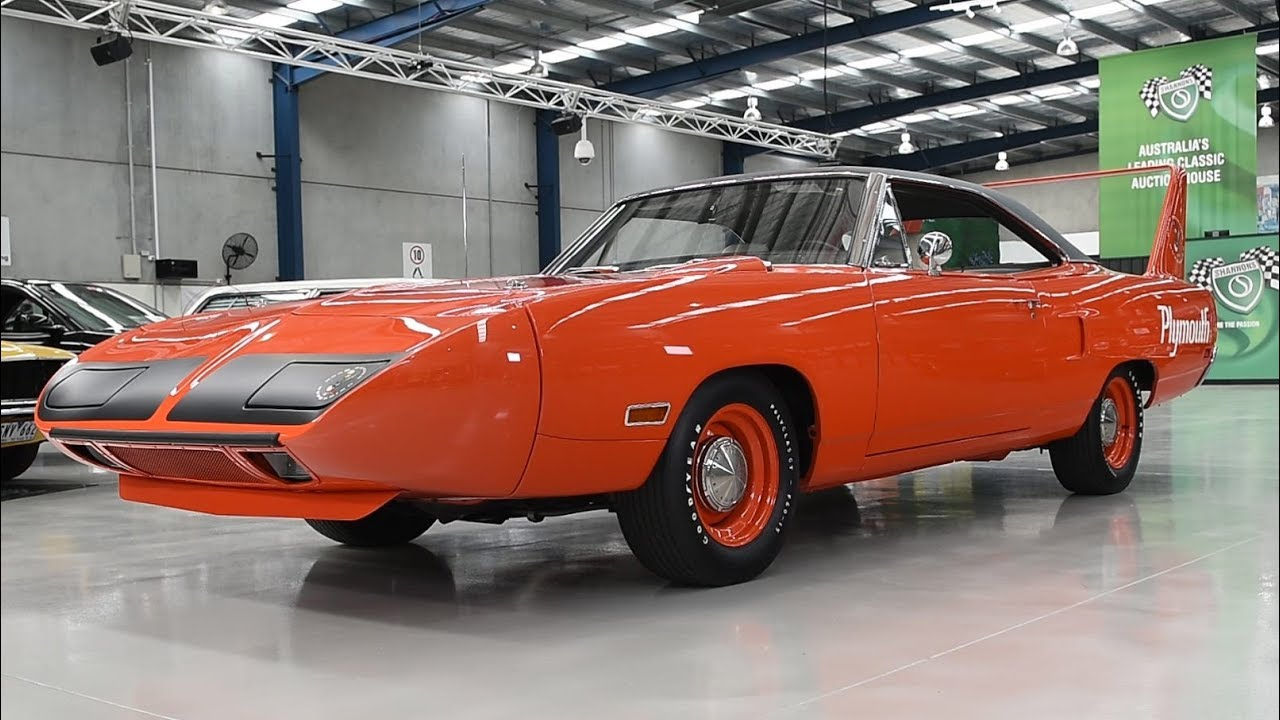 1970 Plymouth Road Runner Superbird '426 Hemi' Coupe (LHD) -  2018 Shannons Melbourne Autumn Classic Auction