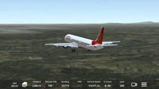 Infinite Flight Air India A320 Landing At 32R KLIA