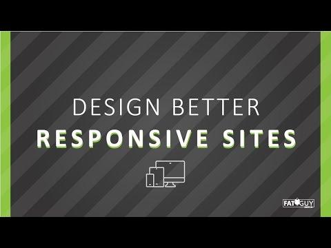 Fat Guy Academy   Designing the Best Responsive Websites