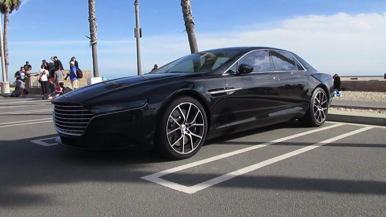 1 Million Lagonda Taraf By Aston Martin W Startup Youtube