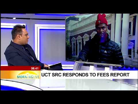 UCT SRC responds to fees report