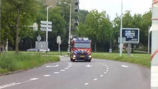 Prio 1 TS46-1 OMS-melding Medimall Zorgboulevard Maasstad Ziekenhuis Haastrechtstraat Rotterdam