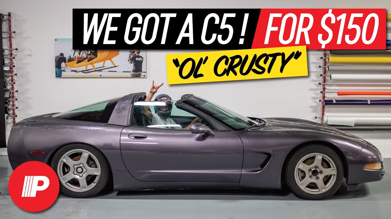 We Got a C5 Corvette! | Random, We Know, But It's About To Get Rowdy!