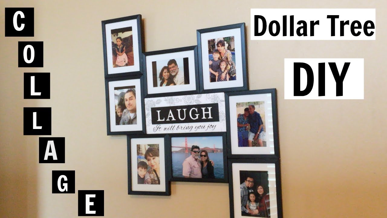 Dollar Tree Diy Family Picture Collage