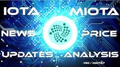 IOTA Project Updates & MIOTA Price Analysis, $50 per IOTA?