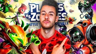 JUGANDO al *NUEVO* PLANTS VS ZOMBIES: BATTLE FOR NEIGHBORVILLE!! - TheGrefg