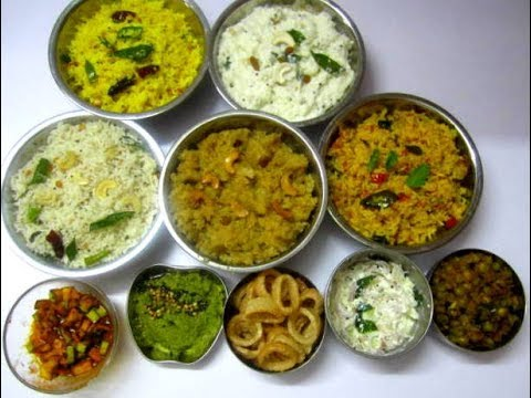 Variety Rice Recipes Lunch Menu Recipe 5 Variety Rice With 5