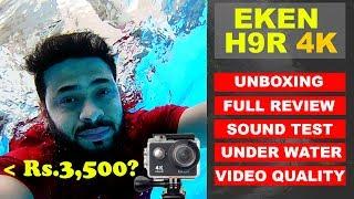 EKEN H9R 4K ACTION CAMERA UNBOXING and REVIEW in HINDI   BANGGOOD