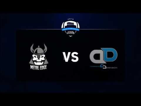 League of Legends Greek Championship Season 1 - Week 1 | Different Dimension eSports vs. Metal Edge
