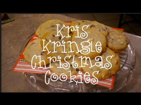 Kris Kringle Christmas Cookie
