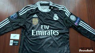 Real Madrid 14-15 (Playera Alternativa) UEFA Champions League.