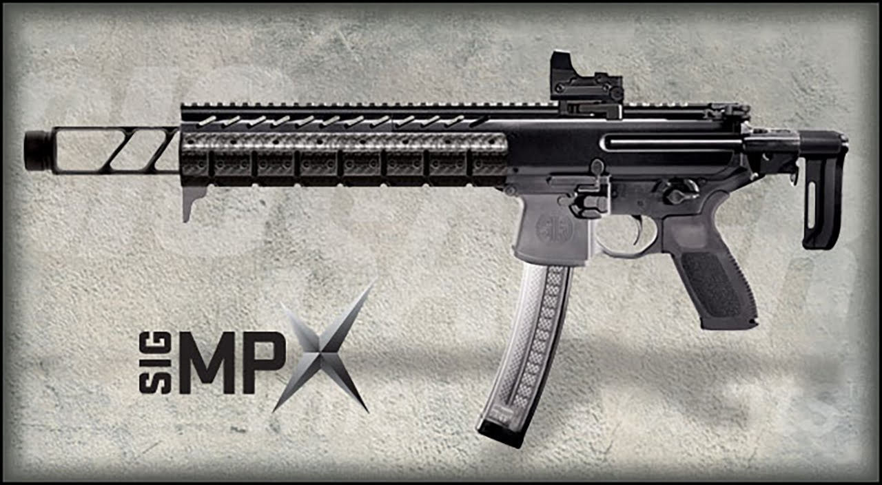 Sig mpx with suppressor for sale