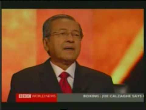 Mahathir - Hard Talk Part 1