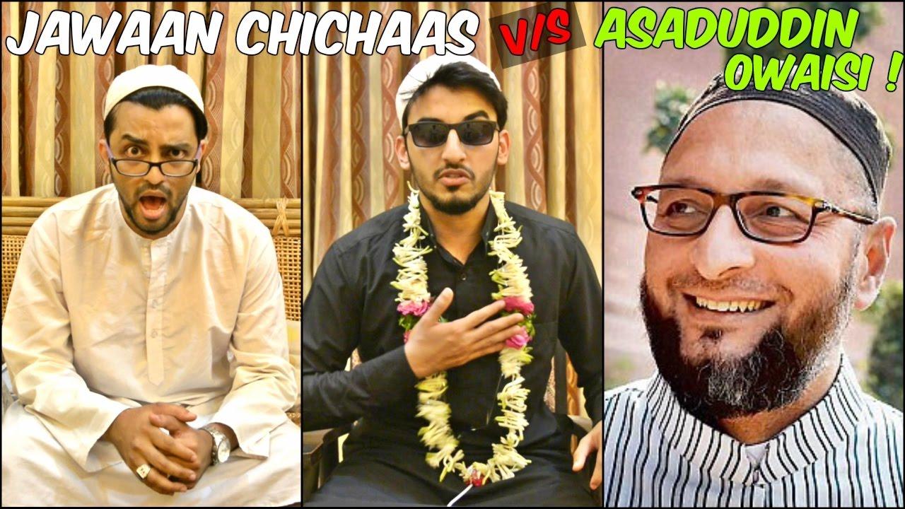 Download Jawaan Chichas V/S Asaduddin Owaisi l The Baigan Vines