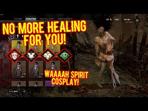 NO MORE HEALING FOR YOU! WAAAAH SPIRIT COSPLAY! - Spirit Gameplay - Dead By Daylight
