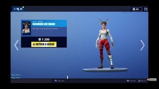 LIVE FORTNITE EN BOUTIQUE 19 DECEMBER RETOUR SKIN NOEL!!?