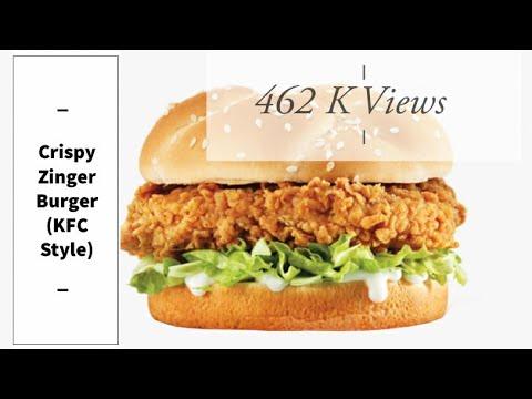 crispy-zinger-burger-recipe-|-crispy-zinger-burger-kfc-style-by-food-lover's