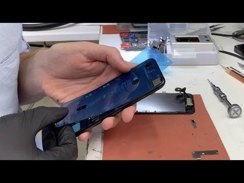 Восстановление защиты от воды и пыли на IPhone 7 / разговоры о ремонте