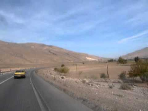 Detour from the main road Shiraz - Bandar Abbas 45 km before Estahban 23/11/2012