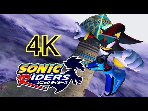 Sonic Riders Babylon Garden Shadow 4k Hd Widescreen 60 Fps No Hud Asurekazani