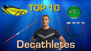 Top 10 best decathletes of all time