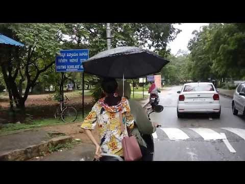 Journey from University of Hyderabad Main Gate to South Campus