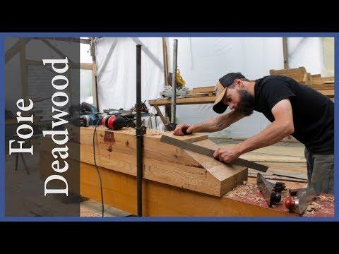 Shaping the forward deadwood - Acorn to Arabella