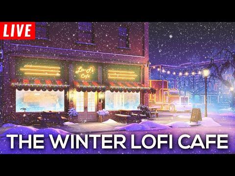 Lofi Christmas Radio 24/7 ❄ The Winter Lofi Cafe is OPEN ❄ Lofi Christmas Playlist 2020
