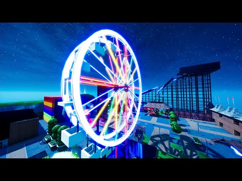 Fortnite Chapter 2 Creative: Amusement Park Carnival Map Gameplay No Commentary