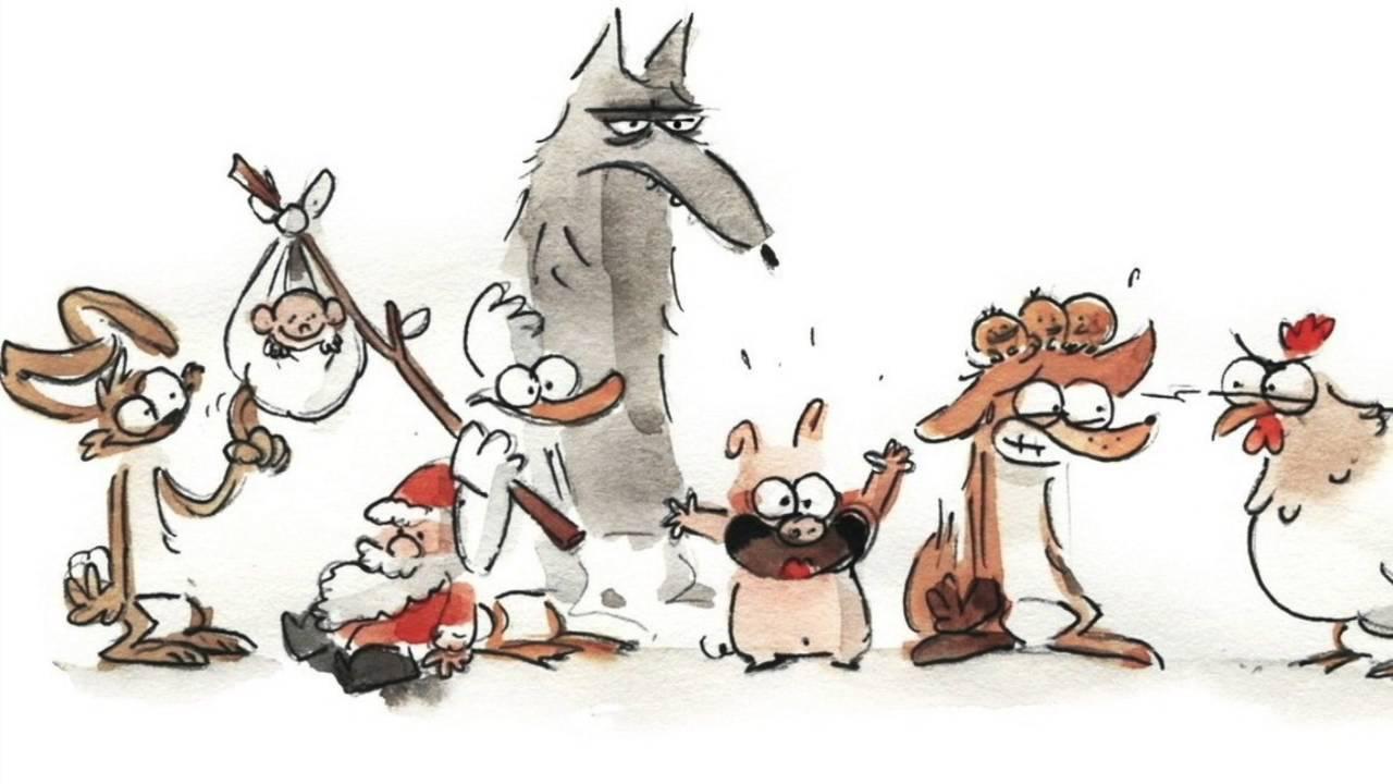 """Résultat de recherche d'images pour """"le grand méchant renard"""""""