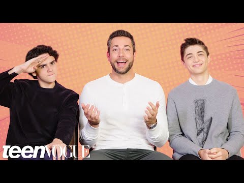The Shazam Cast Tests Their Superhero Movie Knowledge  Teen Vogue