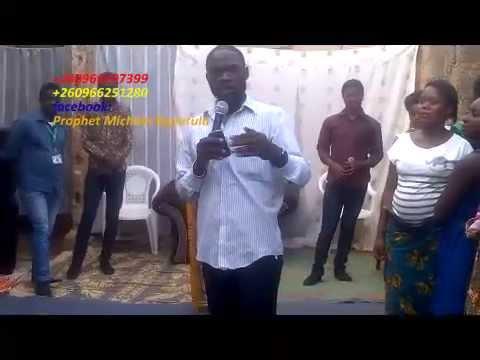 2016 zambian president prophecy by prophet Michael kaputula