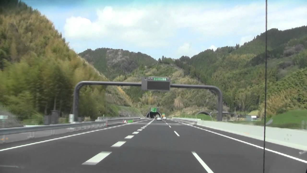 A short drive on Japan's newest highway - NEXCO - YouTube