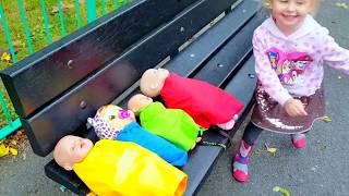 Ты спишь брат Джон  КУКЛЫ НА ПЛОЩАДКЕ Сборник Живая Кукла БЕБИ БОРН Катя пропала Игры челлендж