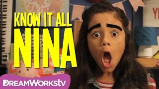 Eyebrows Mustaches | KNOW IT ALL NINA