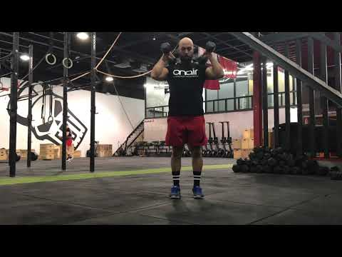 Functional Strength - double DB muscle clean - ON AIR
